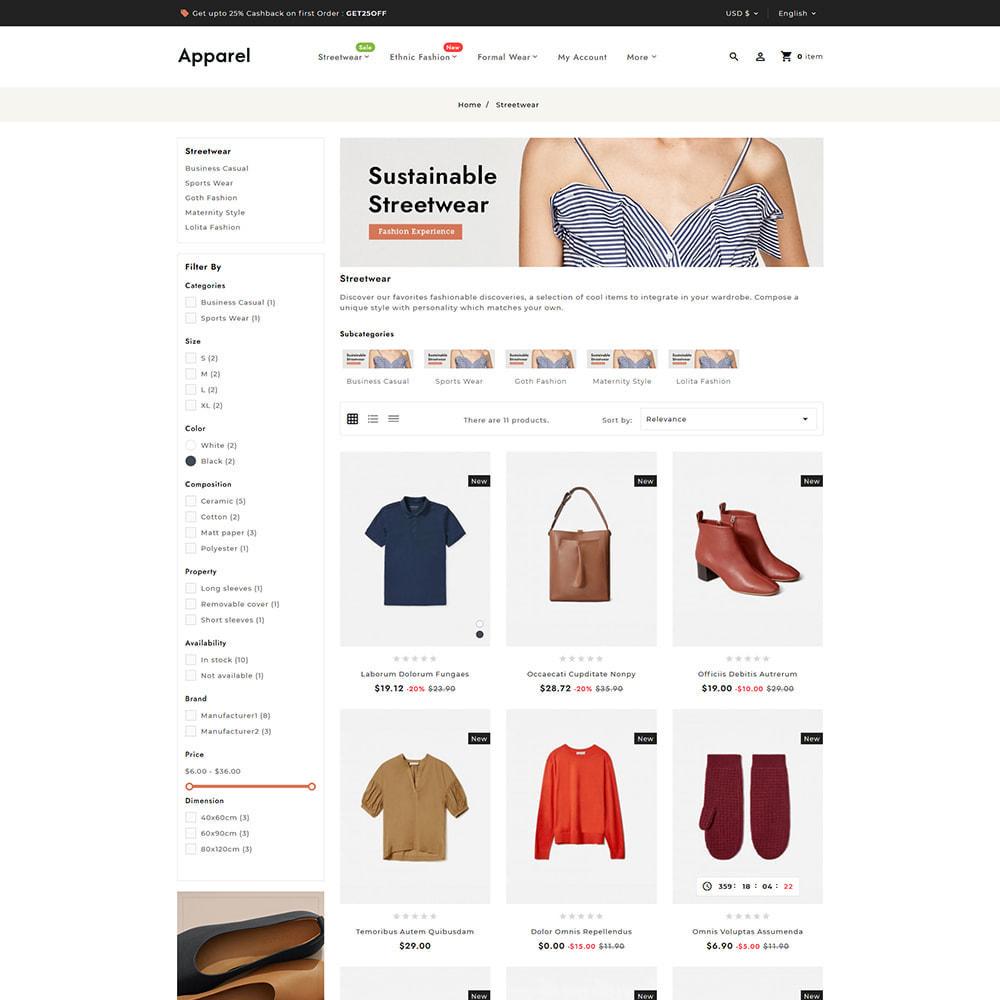 theme - Fashion & Shoes - Apparel Fashion Clothes Super Store - 4