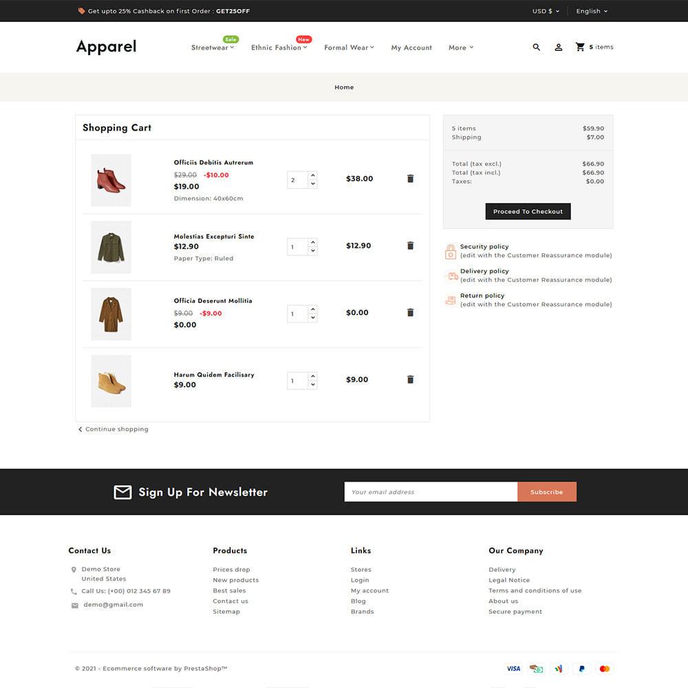 theme - Fashion & Shoes - Apparel Fashion Clothes Super Store - 7