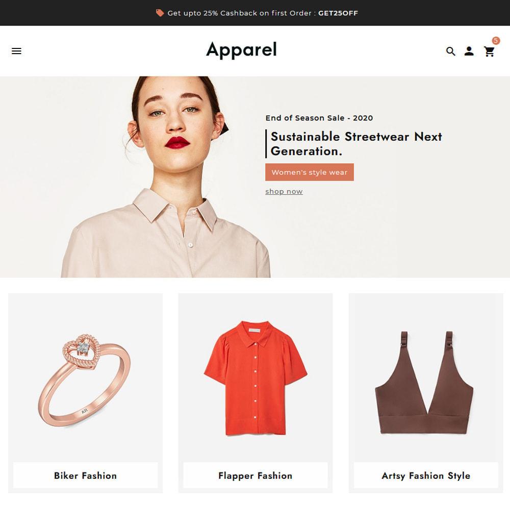theme - Fashion & Shoes - Apparel Fashion Clothes Super Store - 11