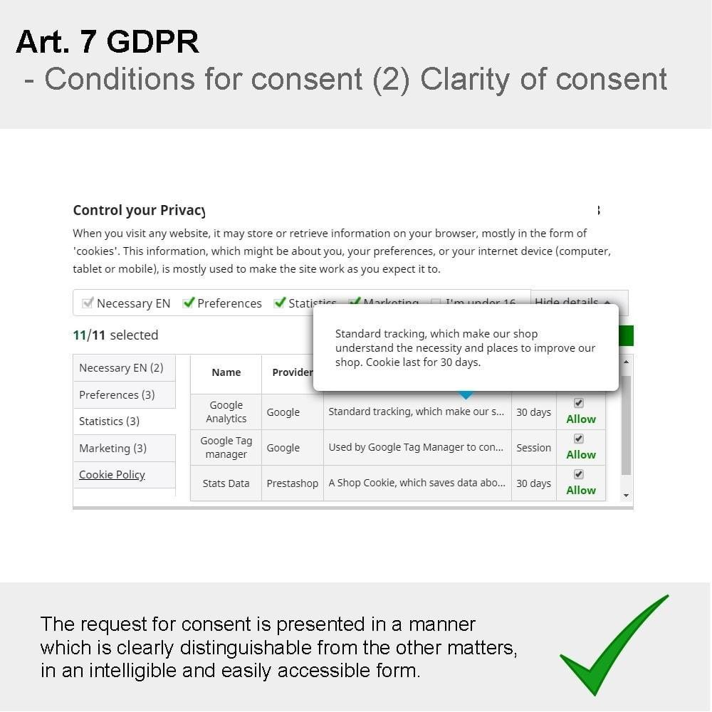 module - Rechtssicherheit - GDPR Compliance Pro - 2021 Verbesserte Edition - 21