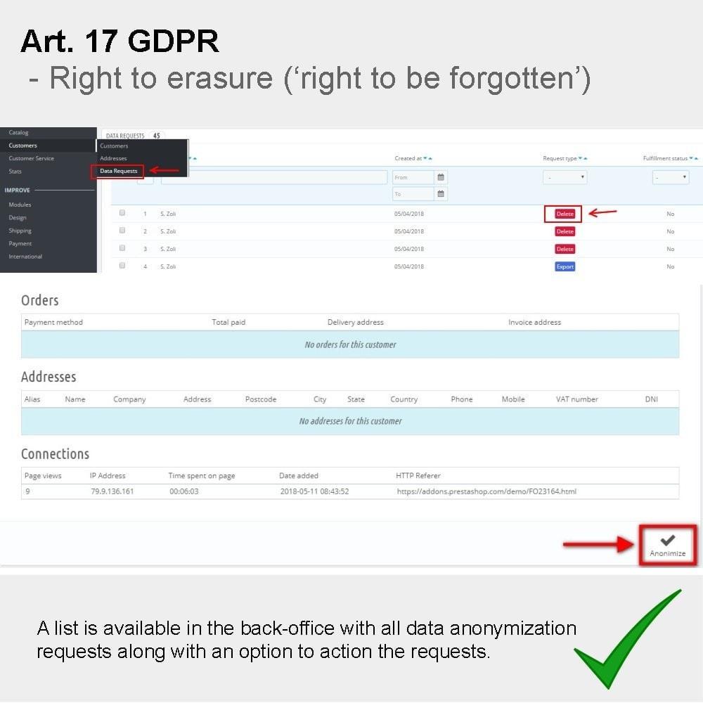 module - Rechtssicherheit - GDPR Compliance Pro - 2021 Verbesserte Edition - 20