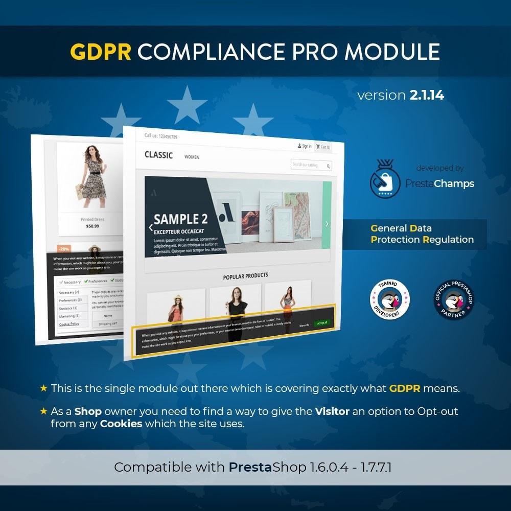 module - Legale (Legge Europea) - GDPR Compliance Pro - 2021 Edizione Avanzata - 1