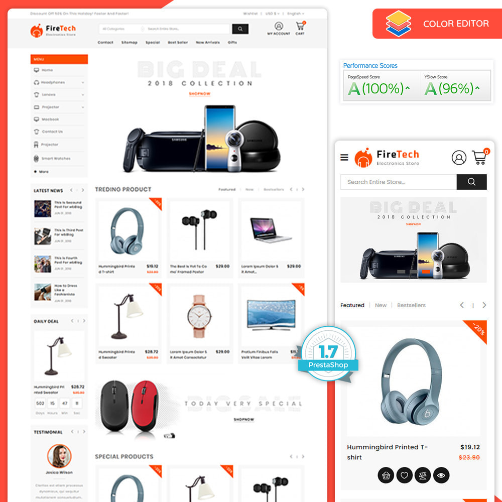 theme - Electronics & Computers - FireTech - The Best Electronics Super Store - 1