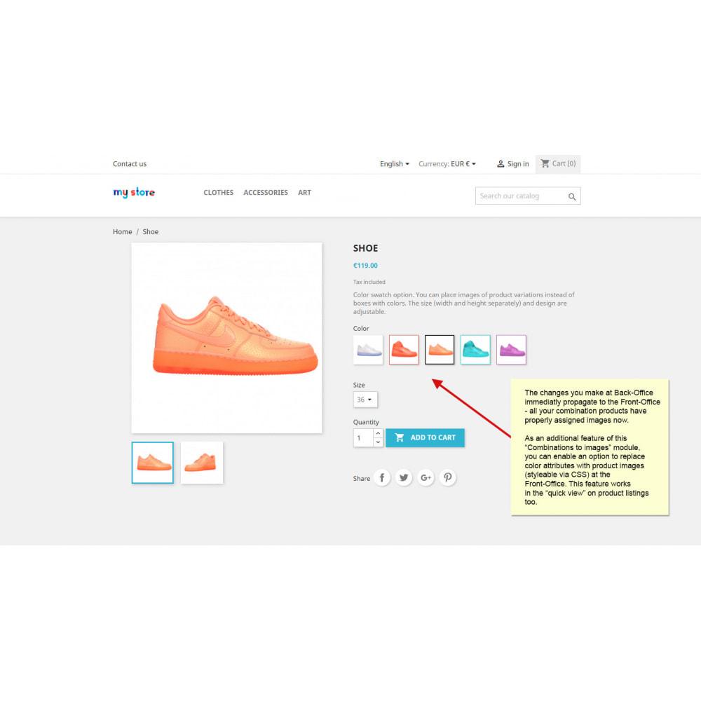 module - Bundels & Personalisierung - Produktkombinationen zu Bildern   Bilder für Varianten - 9
