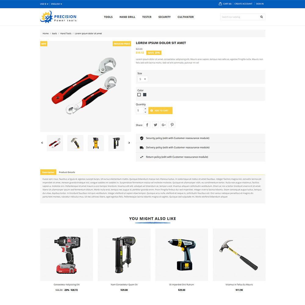 theme - Home & Garden - Precision Home & Garden Tools - 4