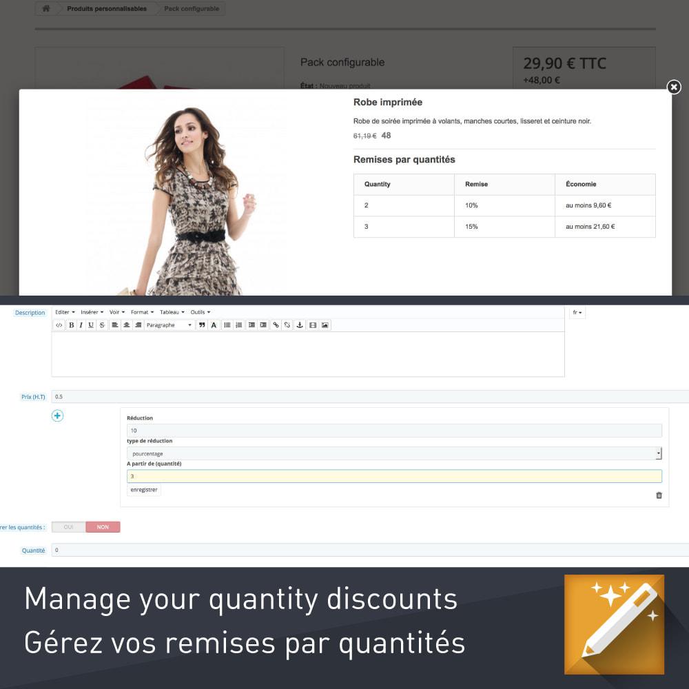 module - Combinazioni & Personalizzazione Prodotti - Personalizzazione, pacchetti e opzioni di prodotto - 4