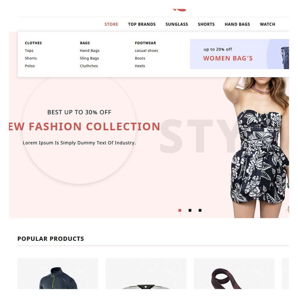 theme - Fashion & Shoes - Enamor Fashion & Shoes Shop - 8