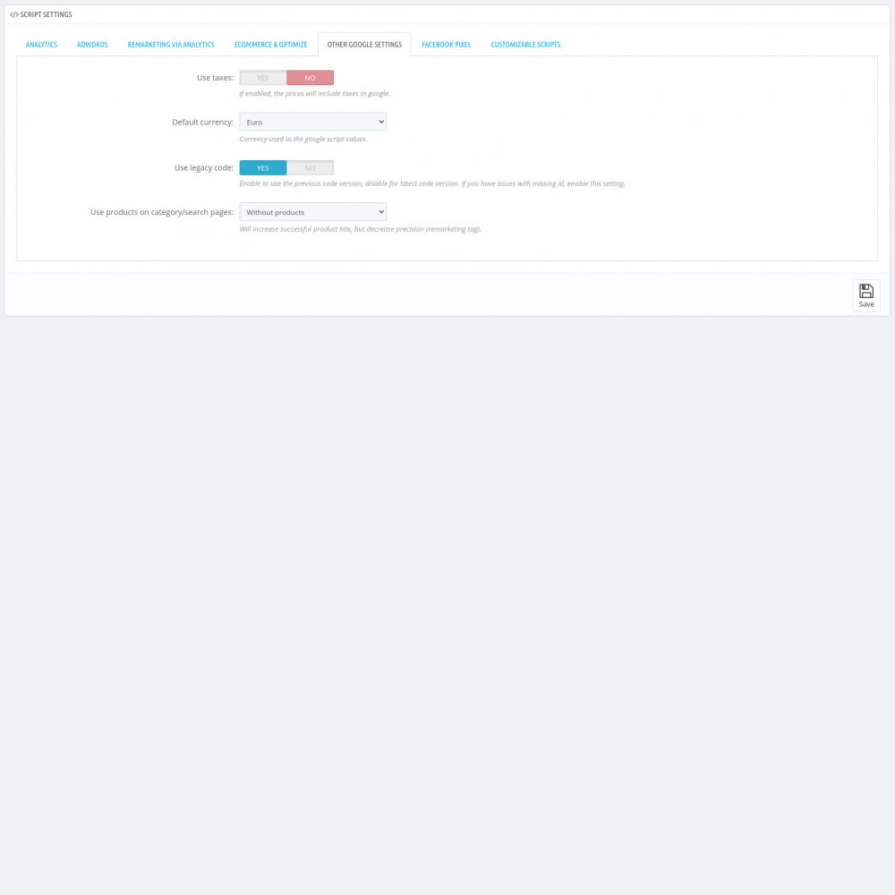 module - Analysen & Statistiken - Script Manager Pro (Customizable Scripts, APIs & GDPR) - 8