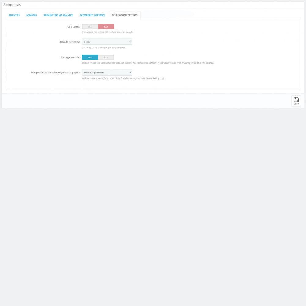 module - Статистика и анализ - Google Marketing Tags (Dynamic scripts, GA4 API & GDPR) - 8