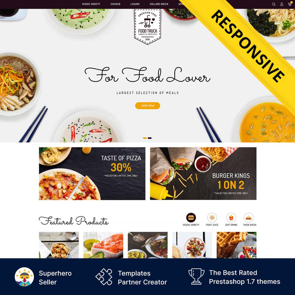 theme - Alimentation & Restauration - Food Truck - Restaurant Store - 1