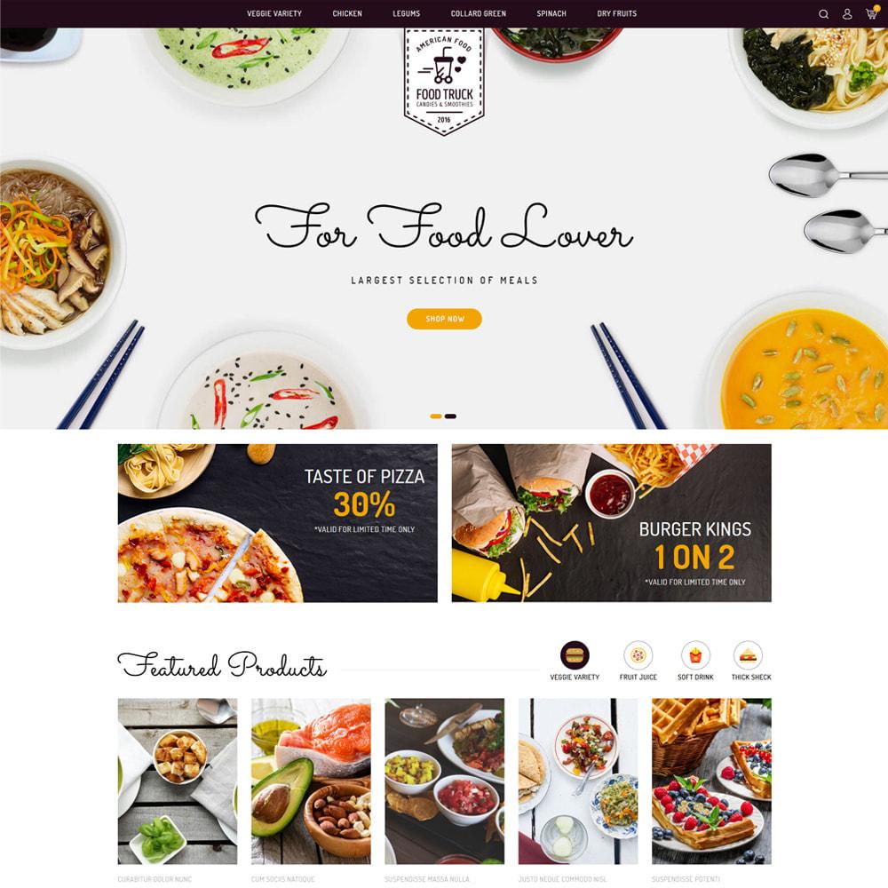 theme - Eten & Restaurant - Food Truck - Restaurant & Food Store - 2
