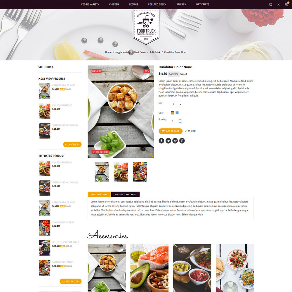 theme - Alimentation & Restauration - Food Truck - Restaurant Store - 4