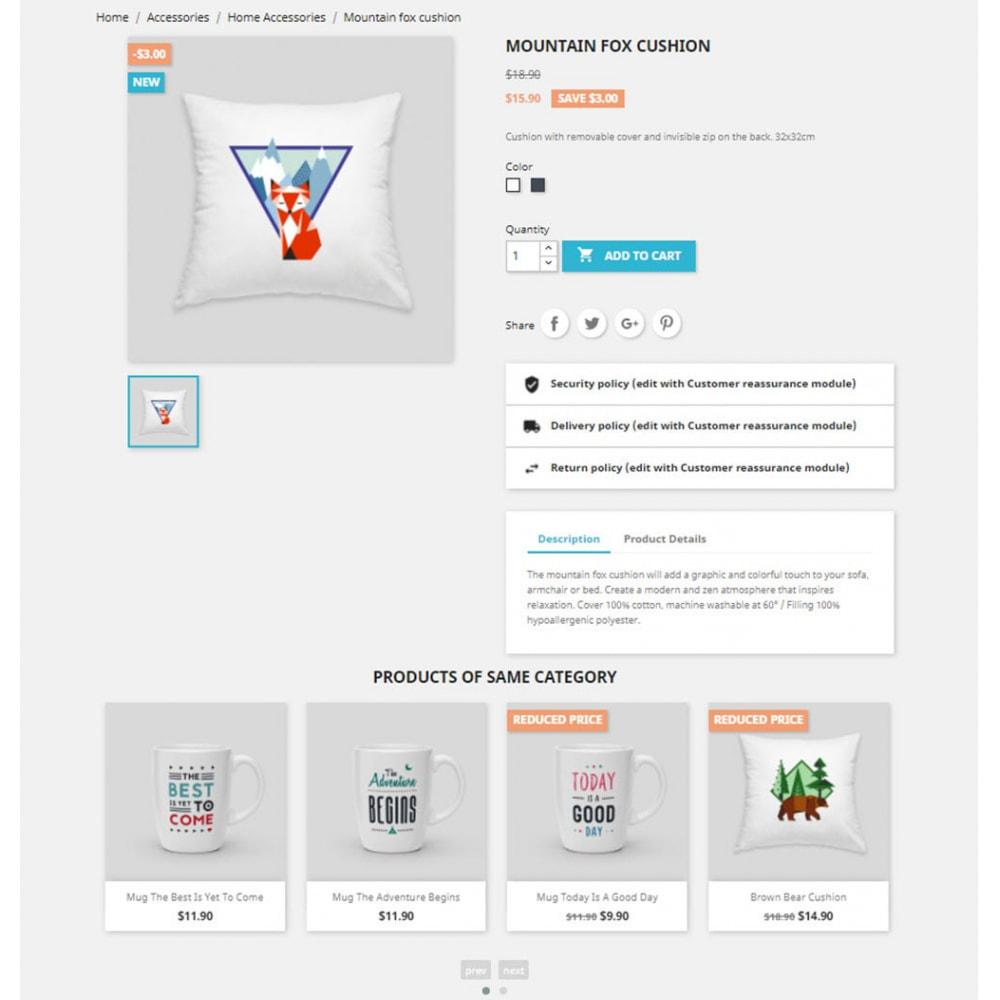 module - Sliders y Galerías de imágenes - Carousels Pack - Instagram, Products, Brands, Supplier - 6