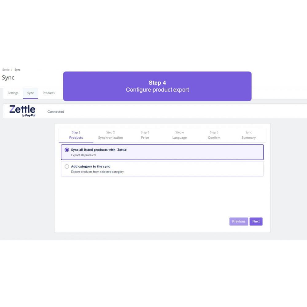 module - Платежи и платежные системы - Zettle by PayPal POS - 4