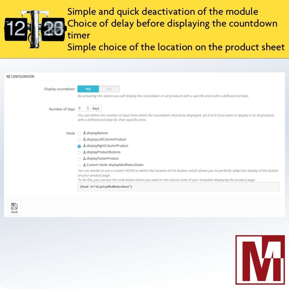 module - Flash & Private Sales - Perfect Countdown - 2