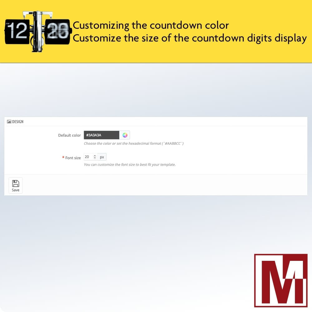 module - Flash & Private Sales - Perfect Countdown - 3