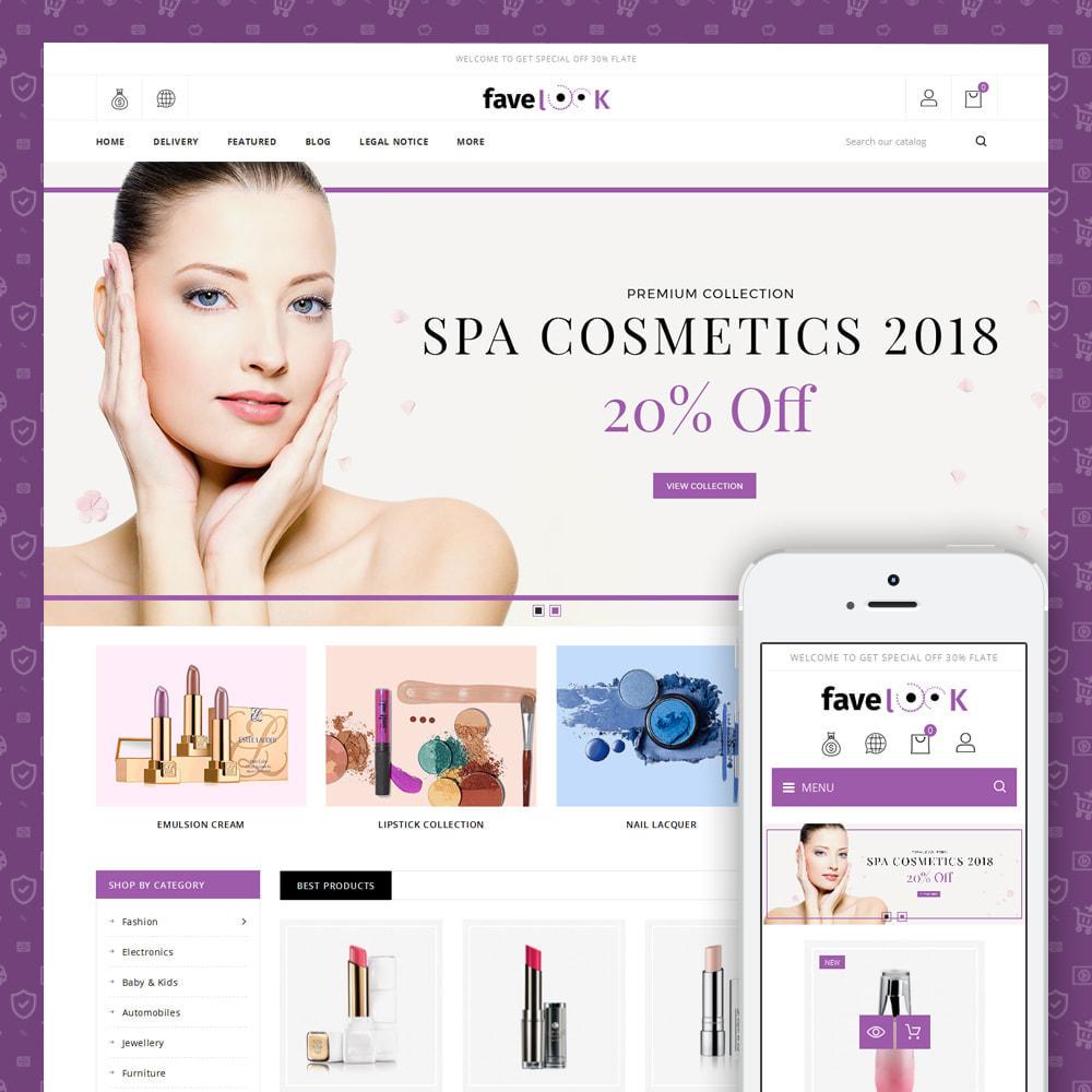 theme - Santé & Beauté - Favelook - Beauty Store - 1