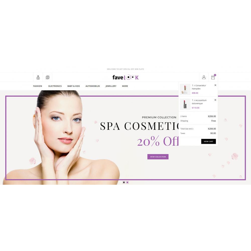 theme - Santé & Beauté - Favelook - Beauty Store - 8