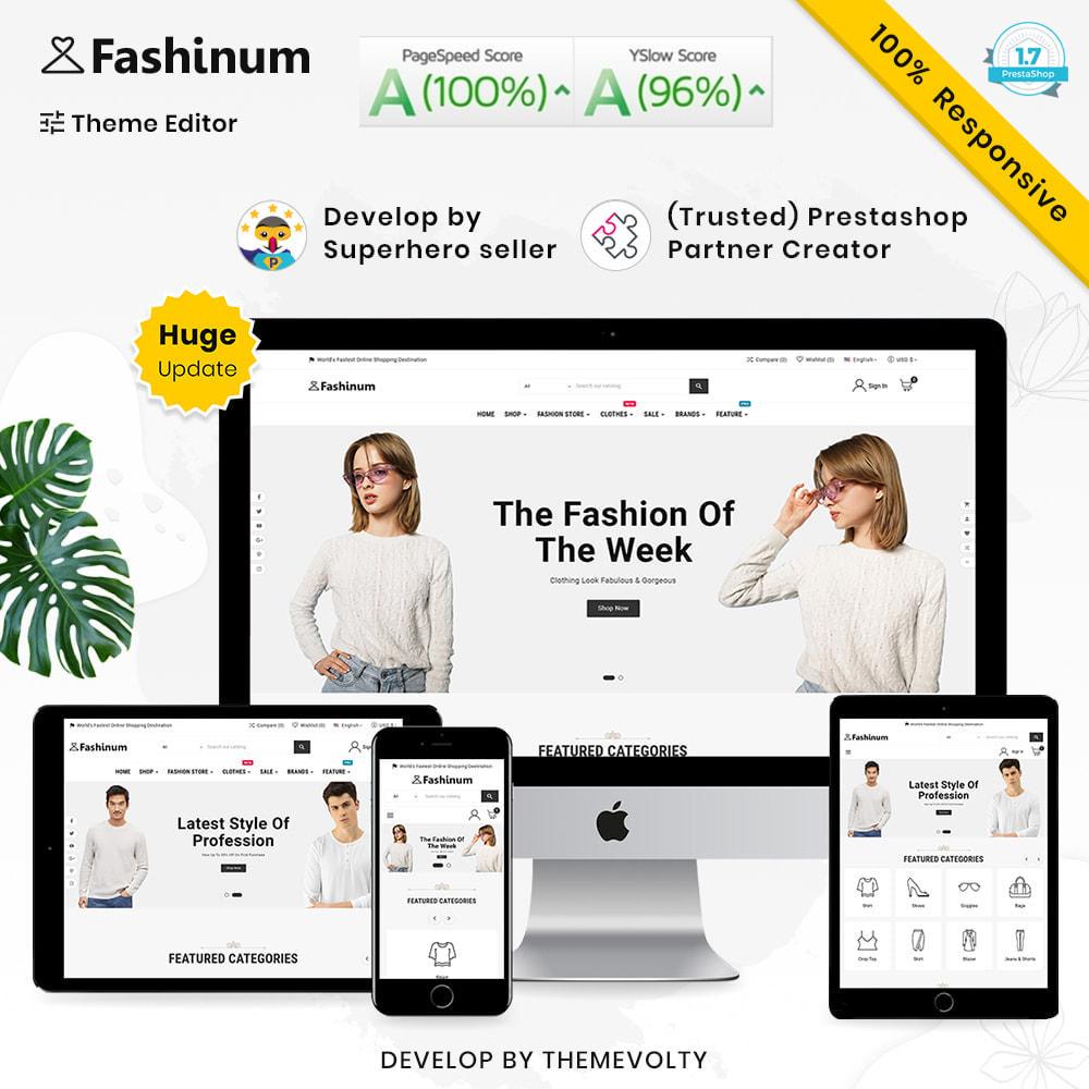 theme - Moda & Obuwie - Fashinum Mega Fashion–Clothes Style–Minimal Super Store - 1