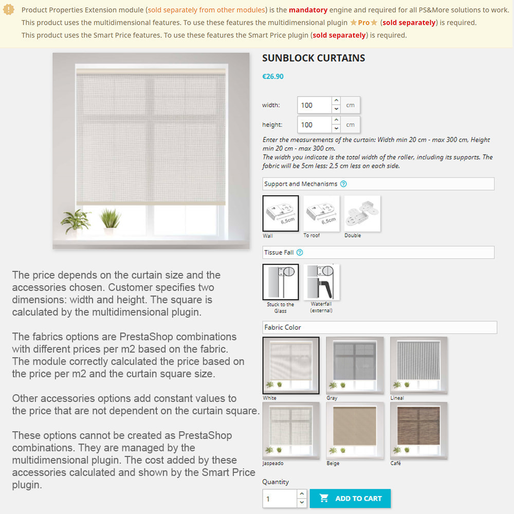 module - Grandezze & Unità di misura - Product Properties Extension Multidimensional Basic - 10