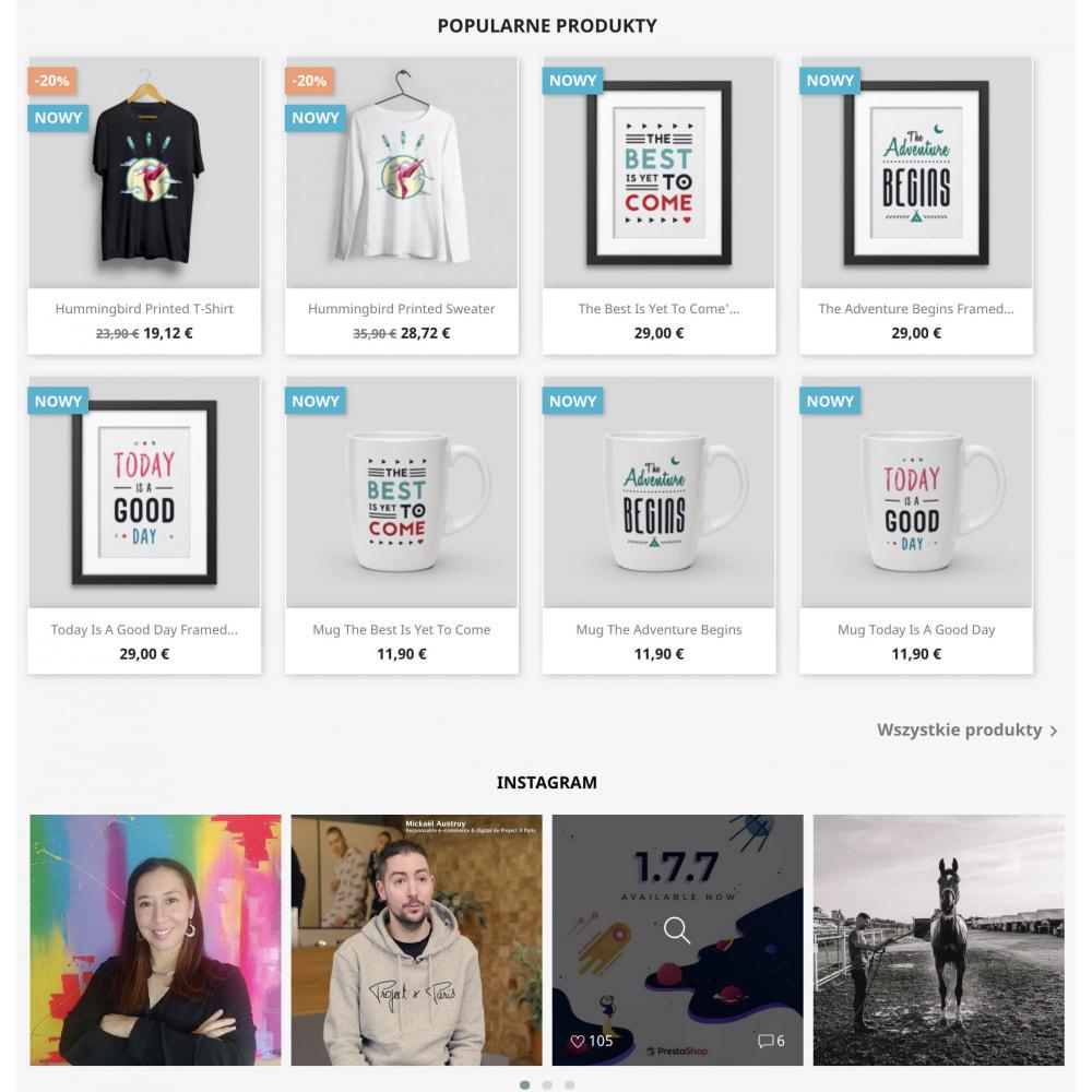 module - Produkty w serwisach społecznościowych - Insta Feed - zdjęcia z instagrama w Twoim sklepie - 5