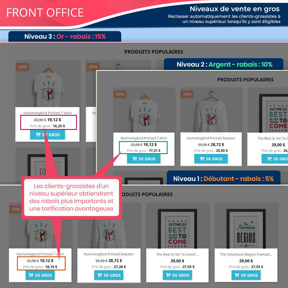 module - Ventes Flash & Ventes Privées - Wholesale B2B - Plateforme de vente en gros experte - 6