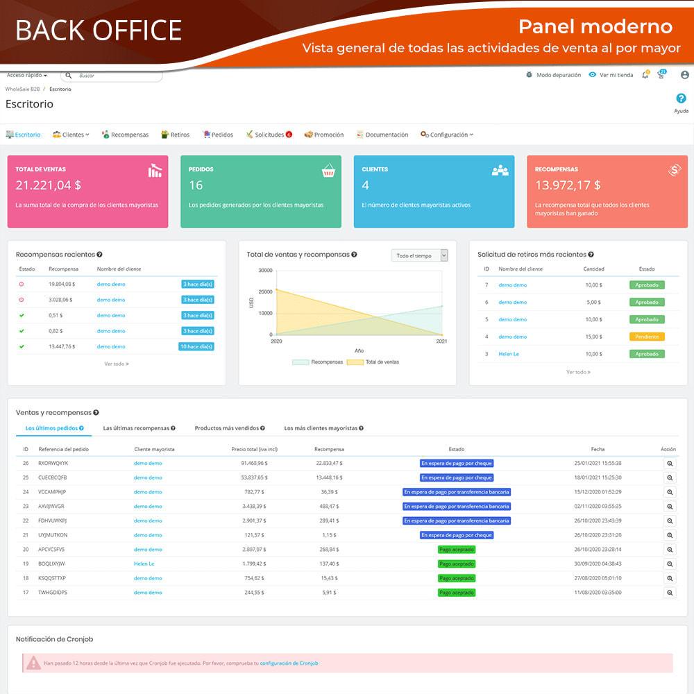 module - Ventas Privadas y Ventas Flash - Wholesale B2B: Plataforma experto de venta al por mayor - 13
