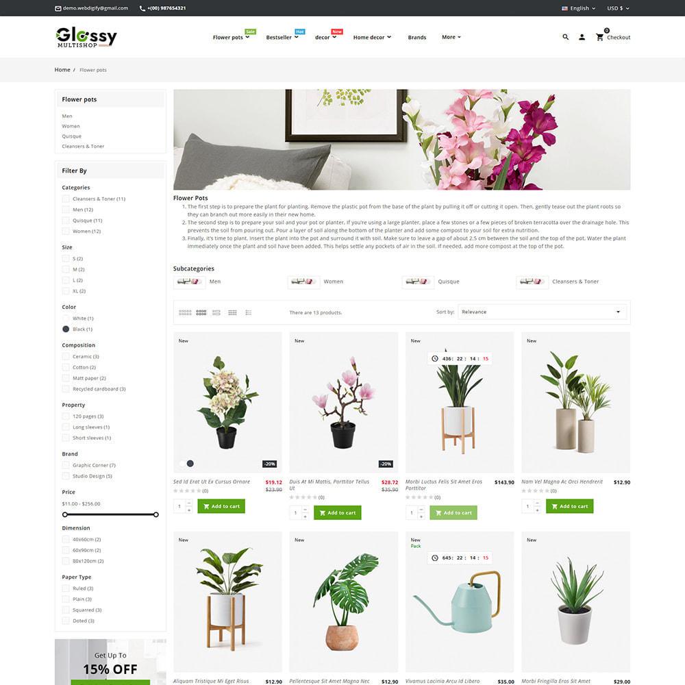 theme - Maison & Jardin - Glossy Nursery Plant & Tools - 6