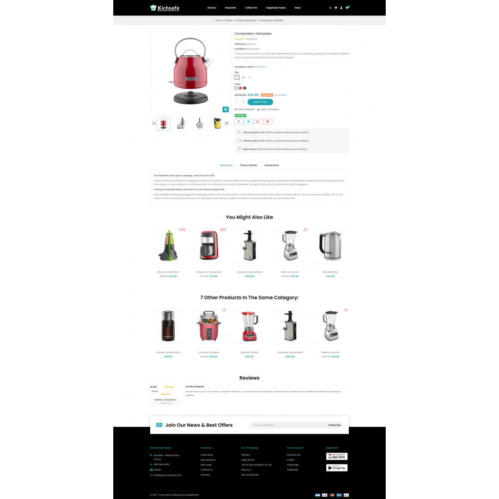 theme - Home & Garden - Online Kitchen Store - 5