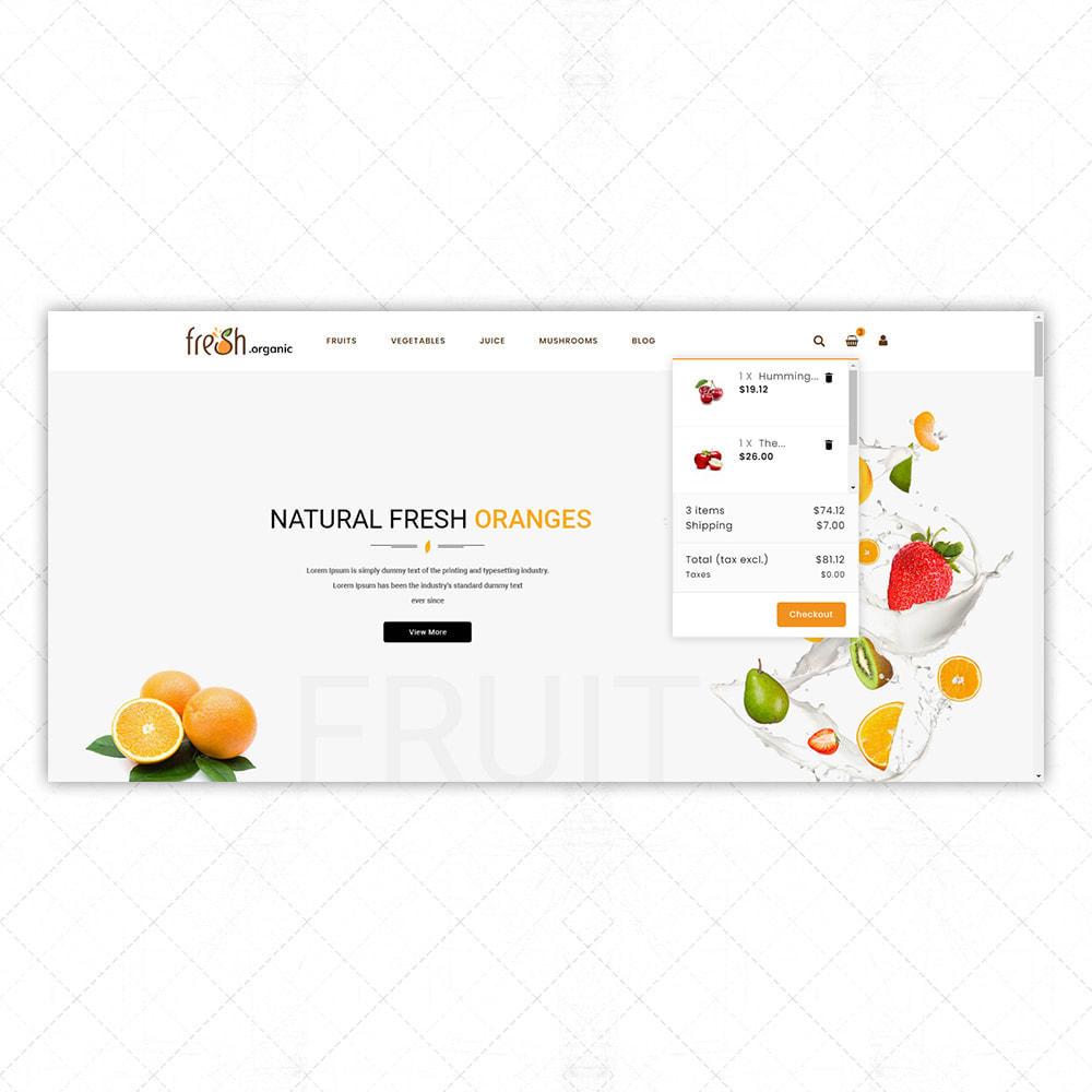 theme - Alimentos & Restaurantes - Organic Fresh - 7