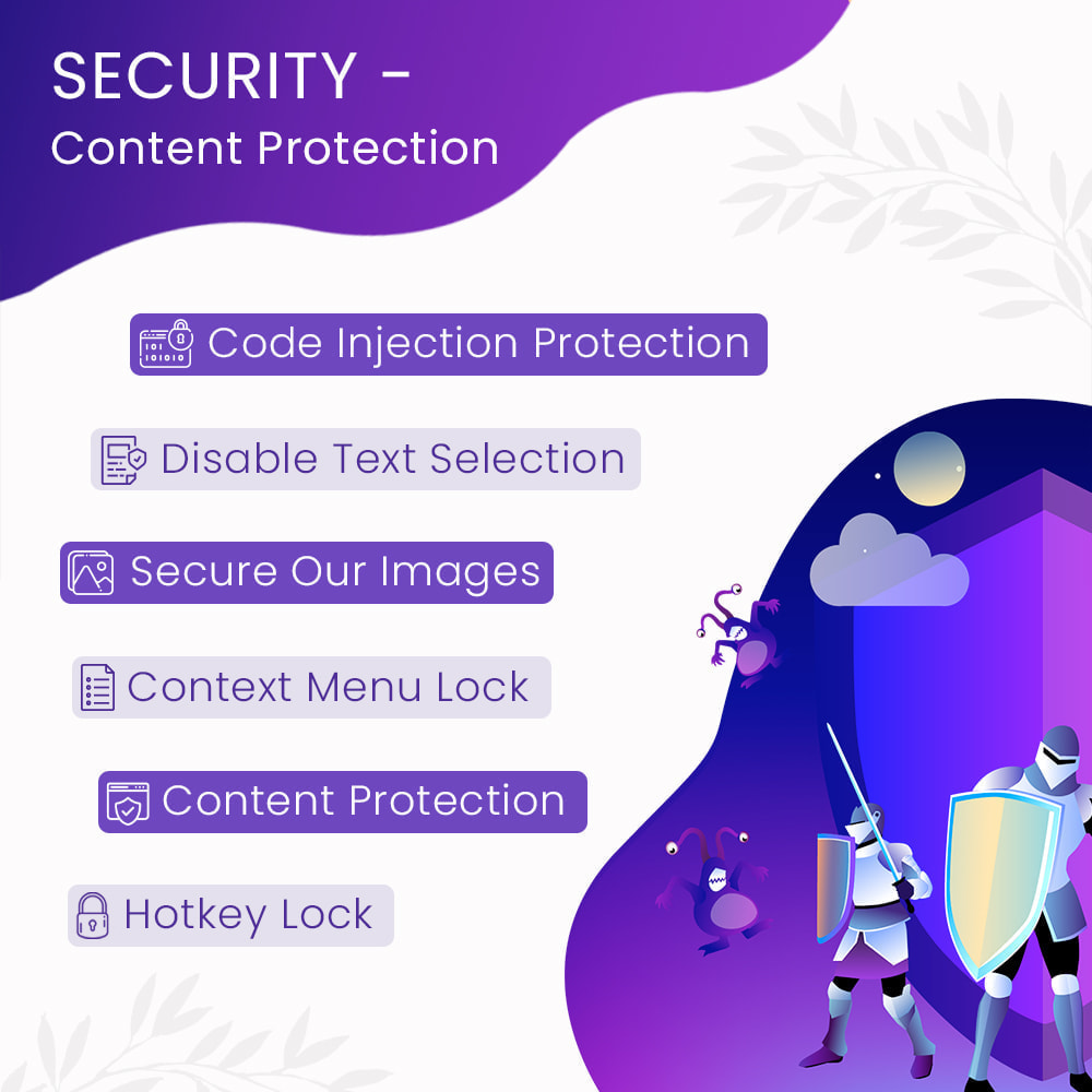 module - Security & Access - Security - Content Protection - 1