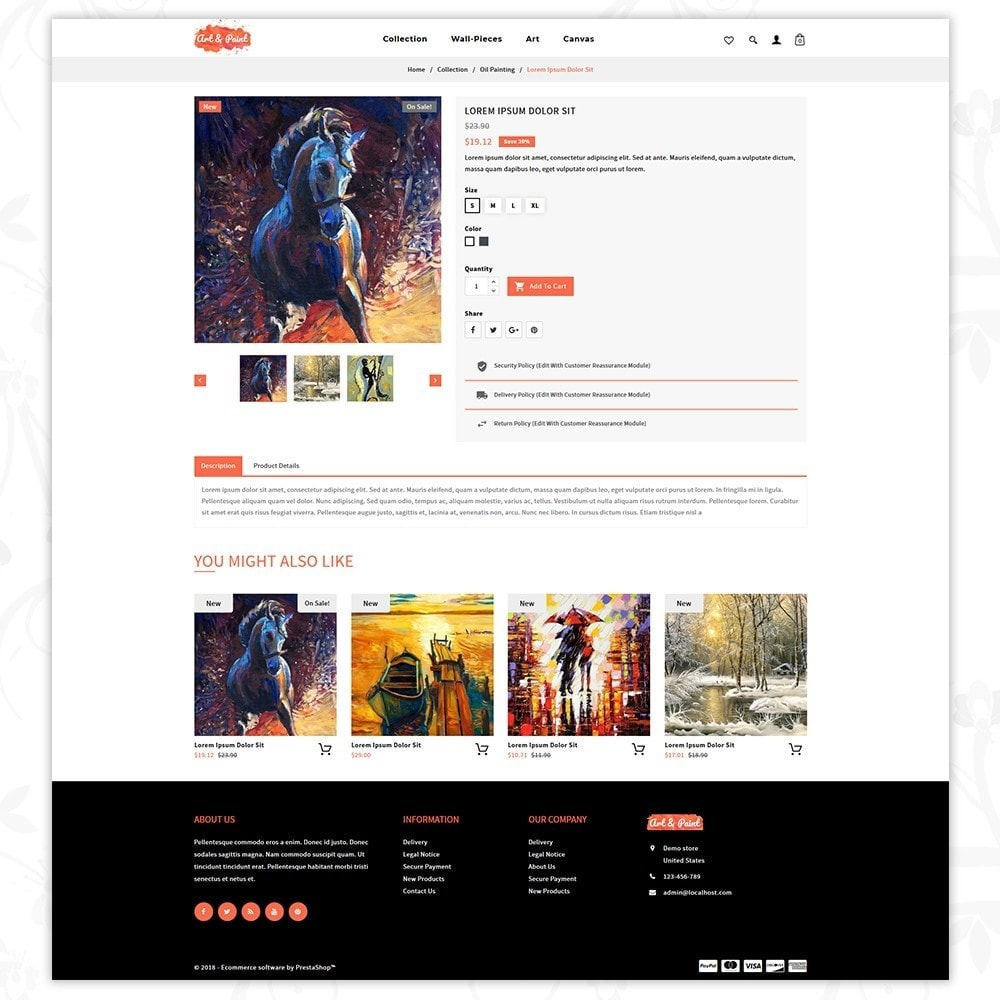 theme - Arte & Cultura - Art and Paint - 5