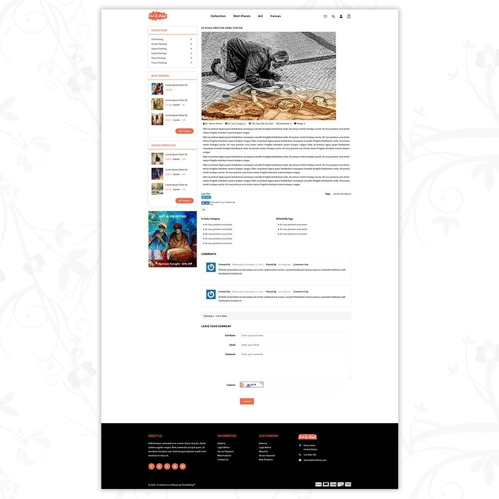 theme - Arte & Cultura - Art and Paint - 7