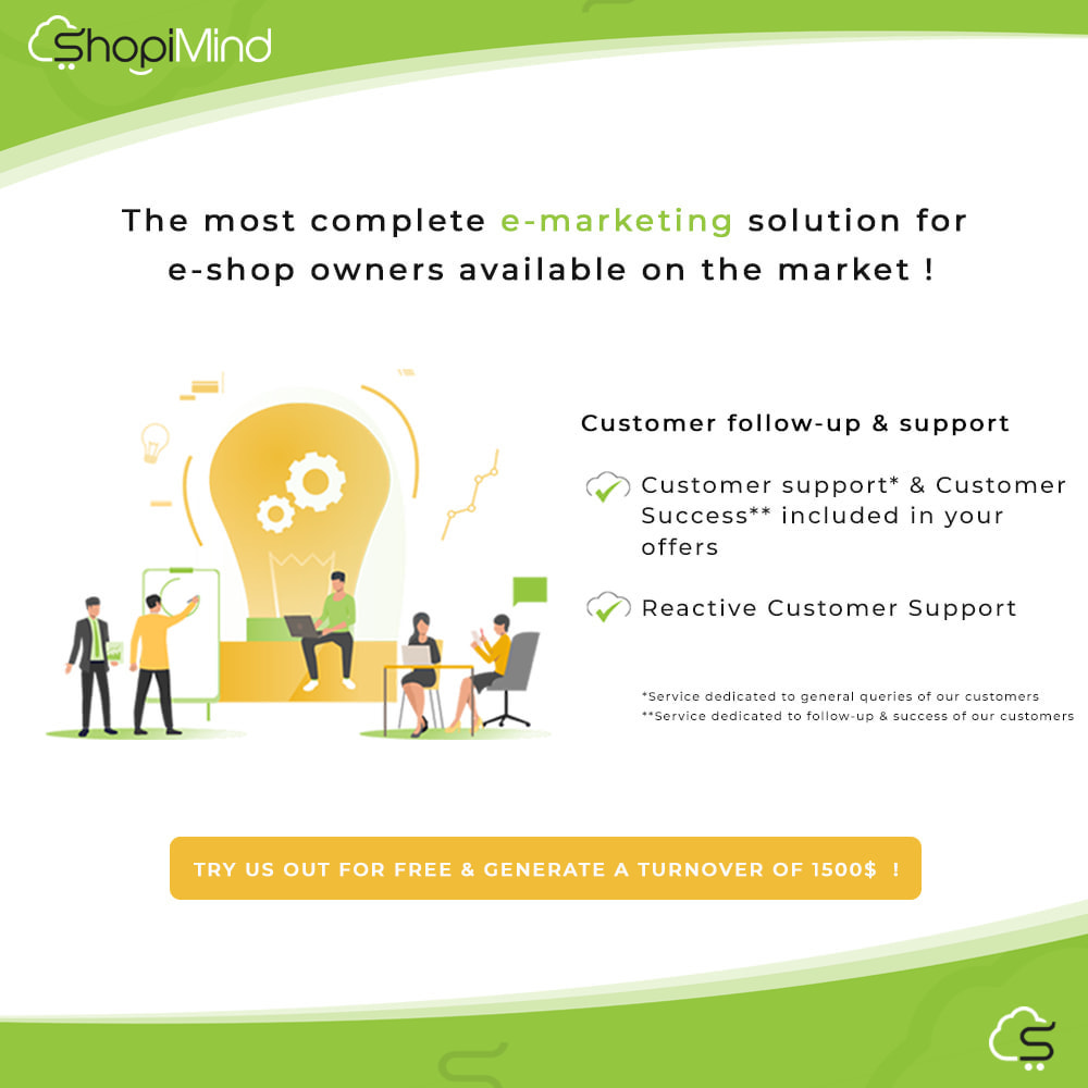 module - Remarketing & Warenkorbabbrüche - ShopiMind - Smart marketing multichanel - 4