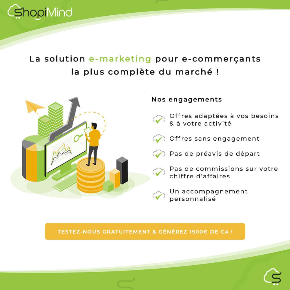 module - Remarketing & Paniers Abandonnés - ShopiMind - Marketing multicanal intelligent - 3