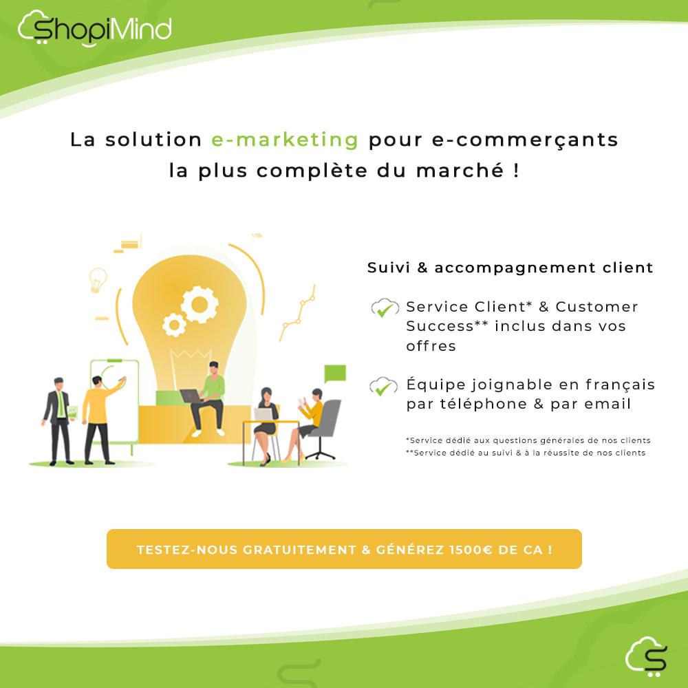 module - Remarketing & Paniers Abandonnés - ShopiMind - Marketing multicanal intelligent - 4