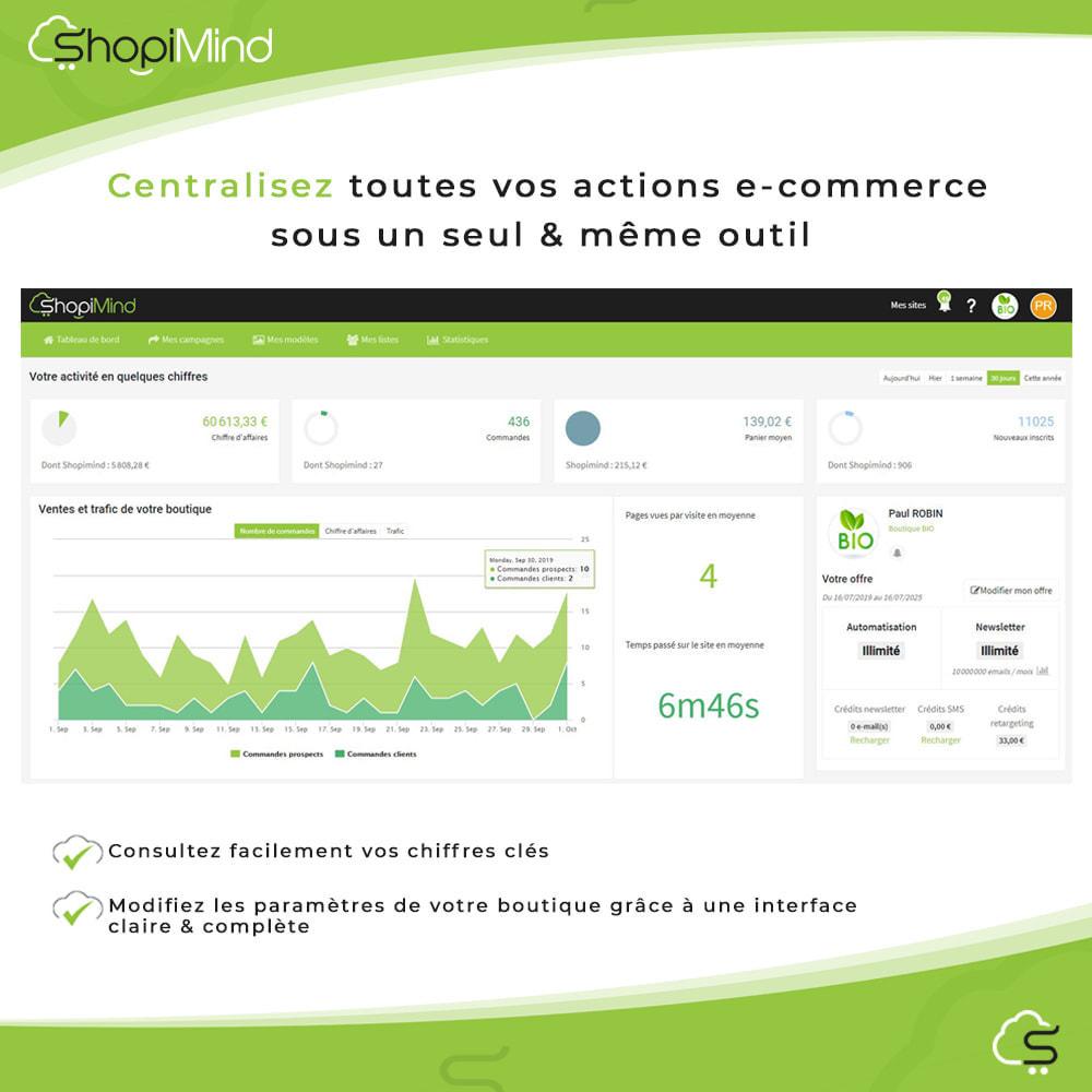 module - Remarketing & Paniers Abandonnés - ShopiMind - Marketing multicanal intelligent - 5