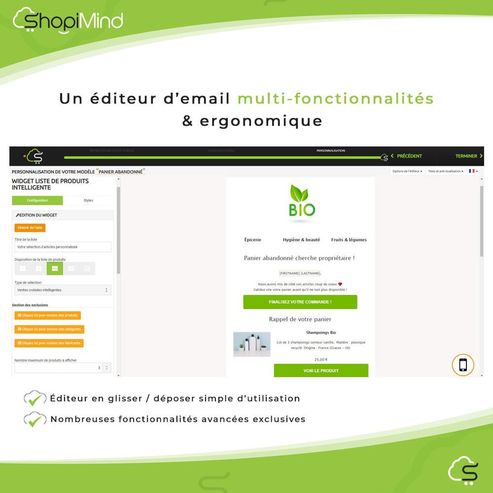 module - Remarketing & Paniers Abandonnés - ShopiMind - Marketing multicanal intelligent - 8