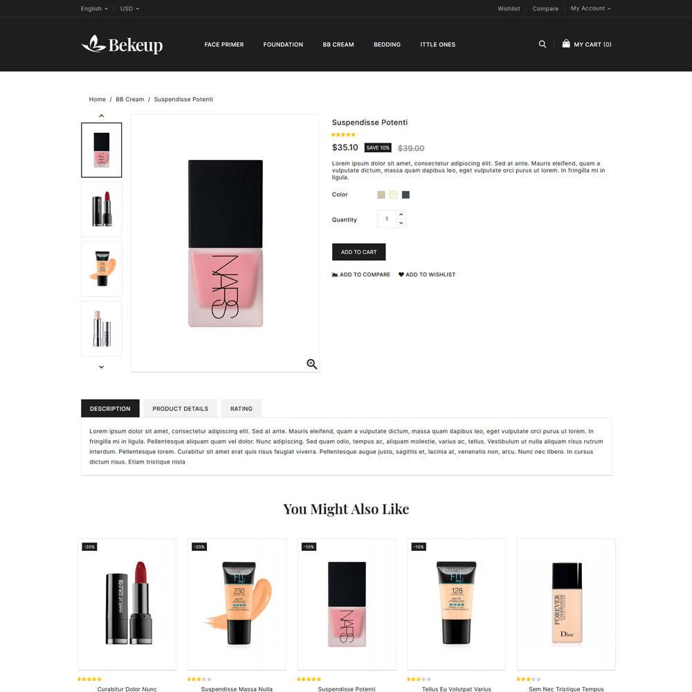 theme - Health & Beauty - Cosmetics Bekeup Store - 4