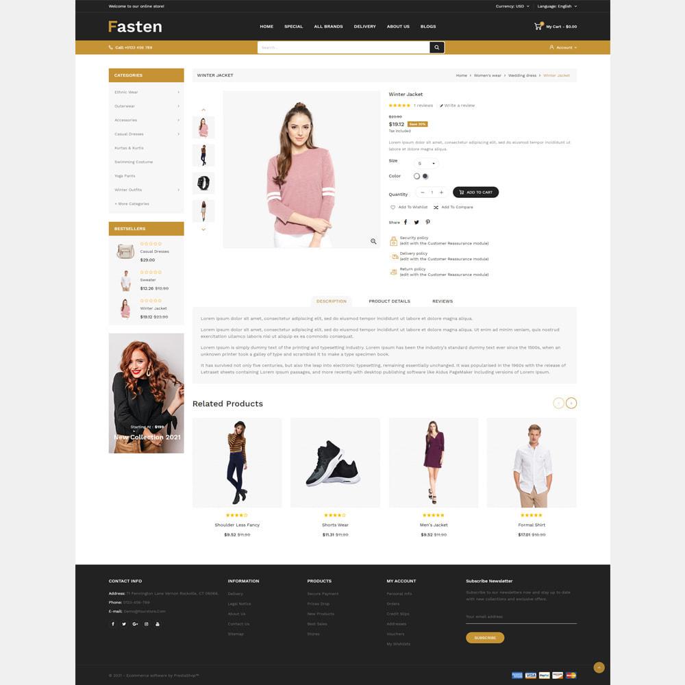 theme - Fashion & Shoes - Fasten - Fashion Responsive Store - 4