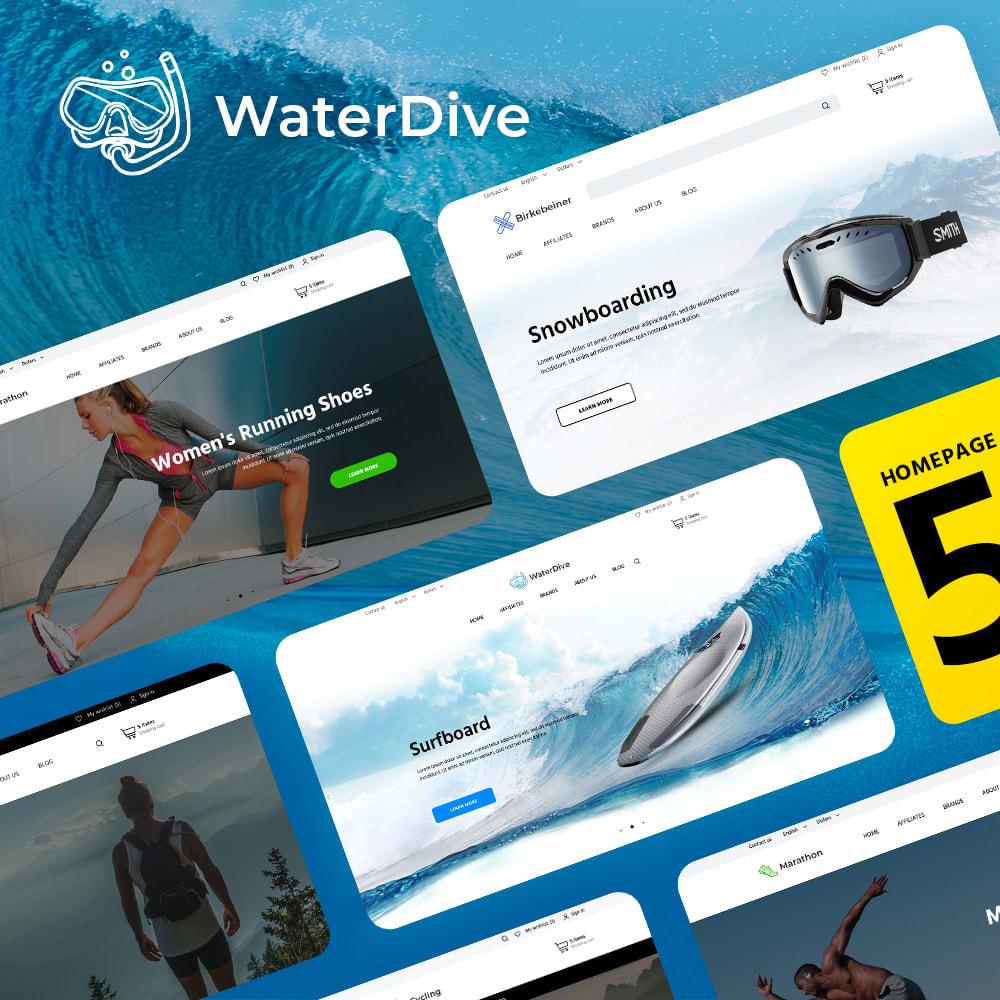 theme - Sport, Rozrywka & Podróże - WaterDive - 1
