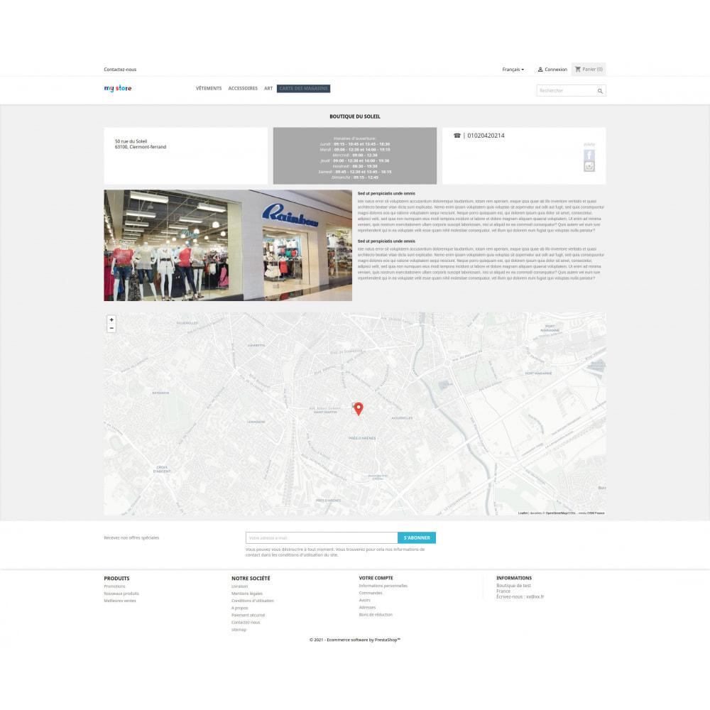 module - Paczkomaty & Odbiór w sklepie - Pro Store locator SEO (free no Google Maps) - 6
