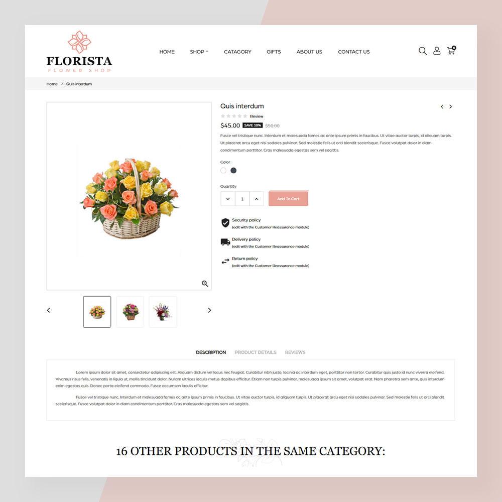 theme - Prezenty, Kwiaty & Uroczystości - Florista- Flower and Gift Store - 5