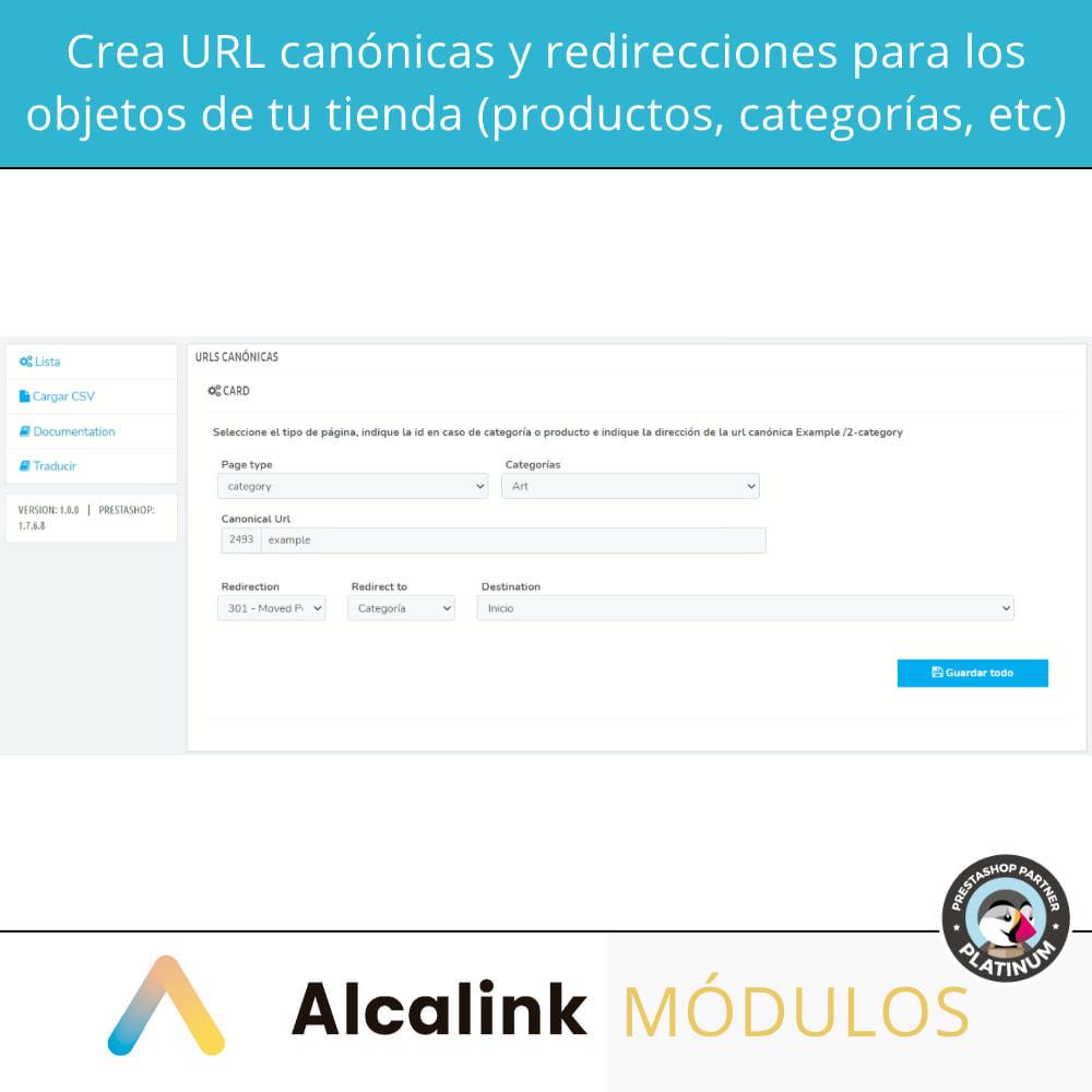 module - URL y Redirecciones - 2x1: Canonical SEO + Redirecciones SEO - 2