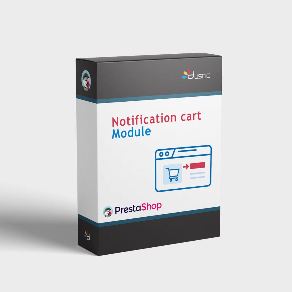 module - Registration & Ordering Process - Cart notification - 1