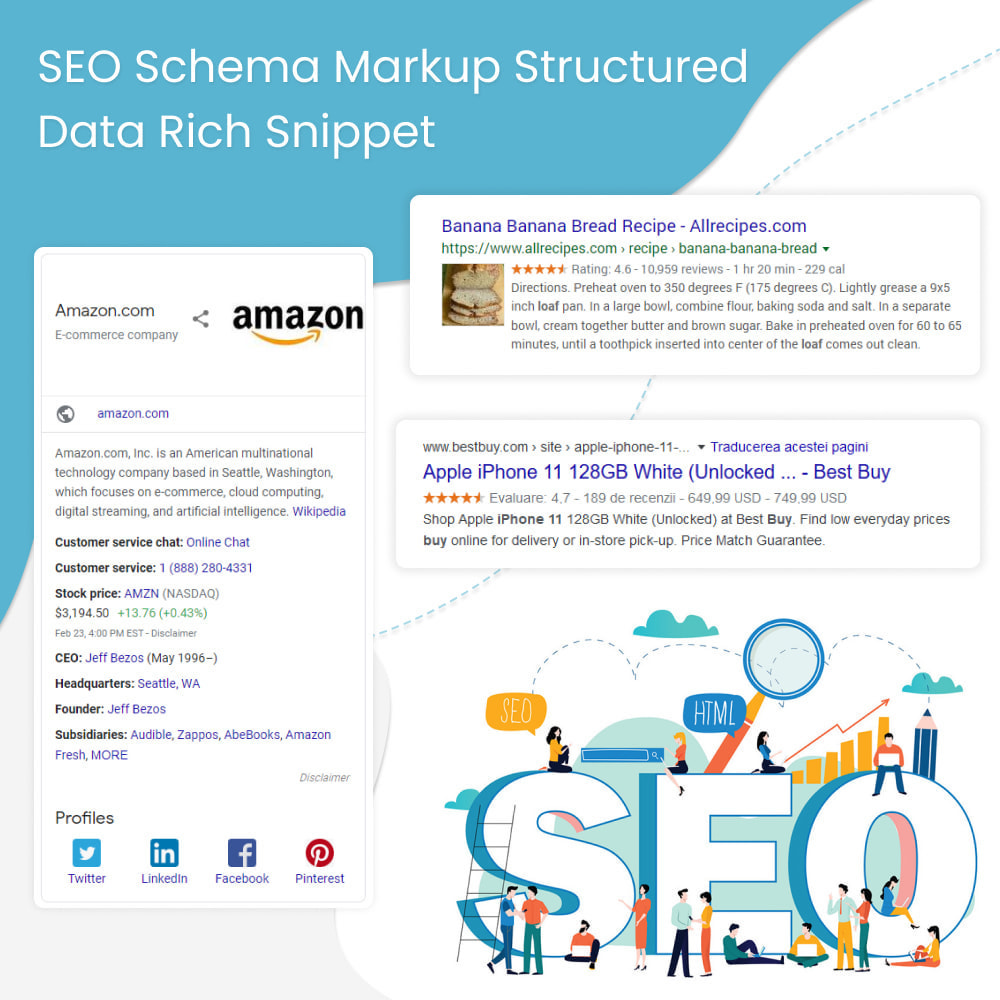 module - SEO - SEO Schema Markup Structured Data Rich Snippet - 1