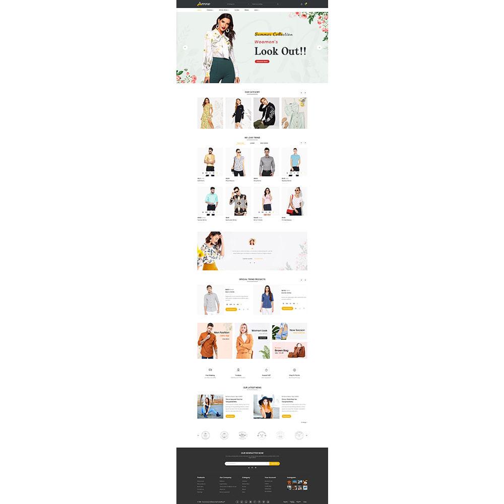theme - Fashion & Shoes - Arrow–Fashion Store - 2