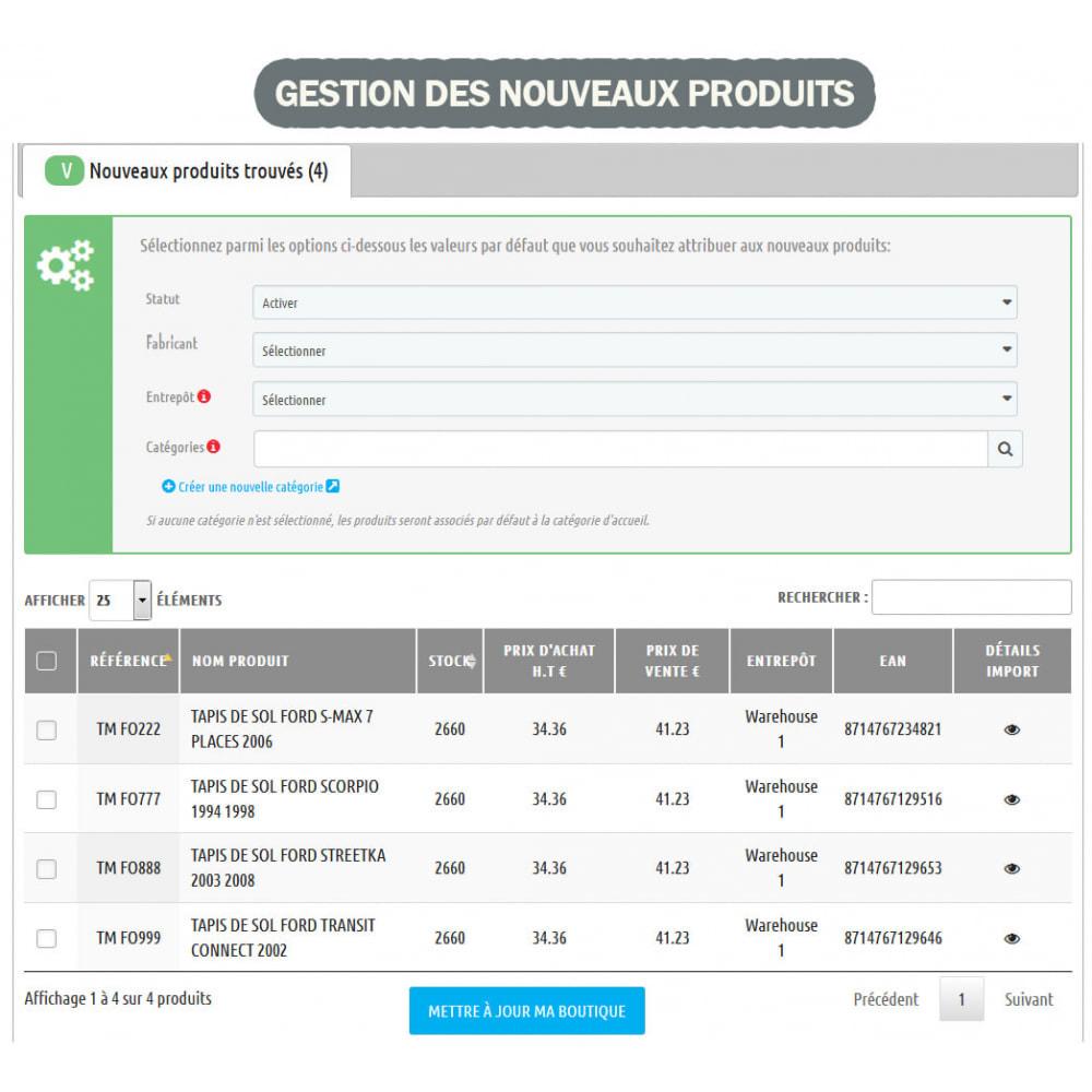 module - Edition rapide & Edition de masse - Wk Gestion de Stock - 5