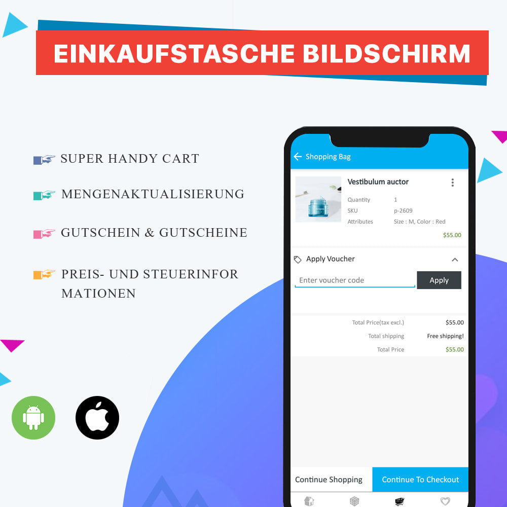 module - Mobile Endgeräte - Knowband - Android und iOS Mobile App Builder - 8