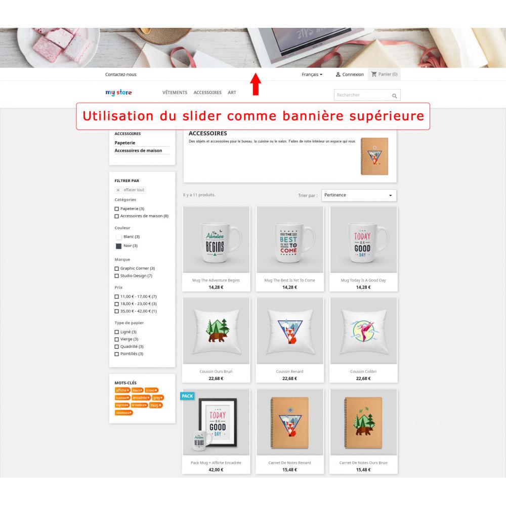 module - Sliders & Galeries - Slider pleine largeur - 4